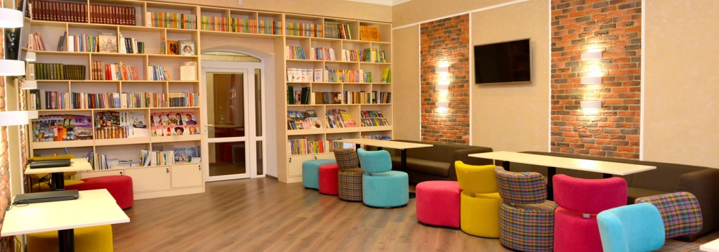 Media library at institute of a development of education
